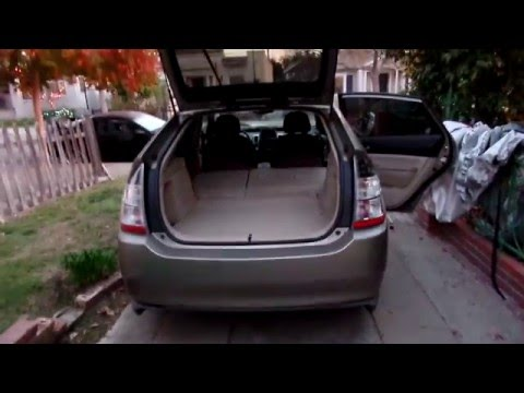 How to Open Gen2 Prius Trunk if Battery Dies
