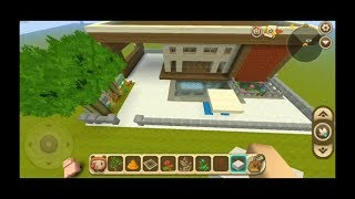 Mini world : How To Build a Small Modern House #1