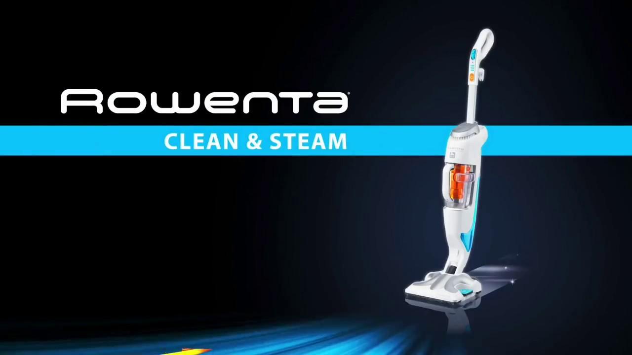 clean steam de rowenta un nettoyage en deux fois moins de temps youtube