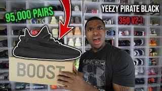 Adidas Yeezy Pirate Black 350 V2! SUPER LIMITED!