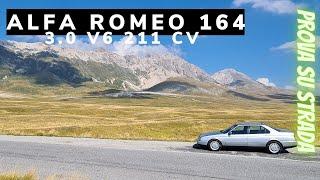 1993 Alfa Romeo 164 Super 3.0 V6 211 CV, Test Drive, Pov