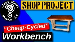 Workbench  Cheap-cycled From An Old Dresser Top.