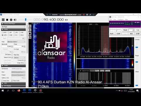 90.4 AFS Durban KZN Radio Al-Ansaar via MS