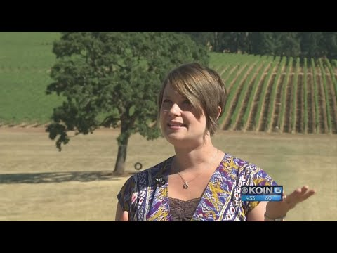 Goats and wine: Eclipse camping in McMinnville