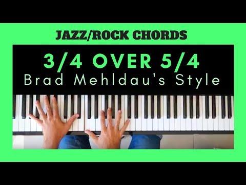 JAZZ-ROCK ODD RHYTHM PIANO TUTORIAL | 3/4 Over 5/4 Ostinato  (Brad Mehldau's Style)