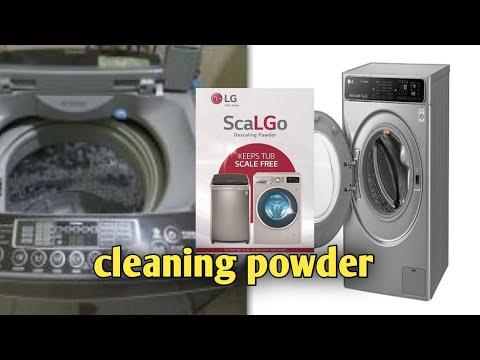 LG Top Load Washing Machine | lg dscale powder |cleaning powder