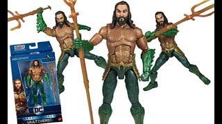 Mattel DC Multiverse Arthur Curry Aquaman Movie Series (Trench Warrior C&C Wave) Figure Review