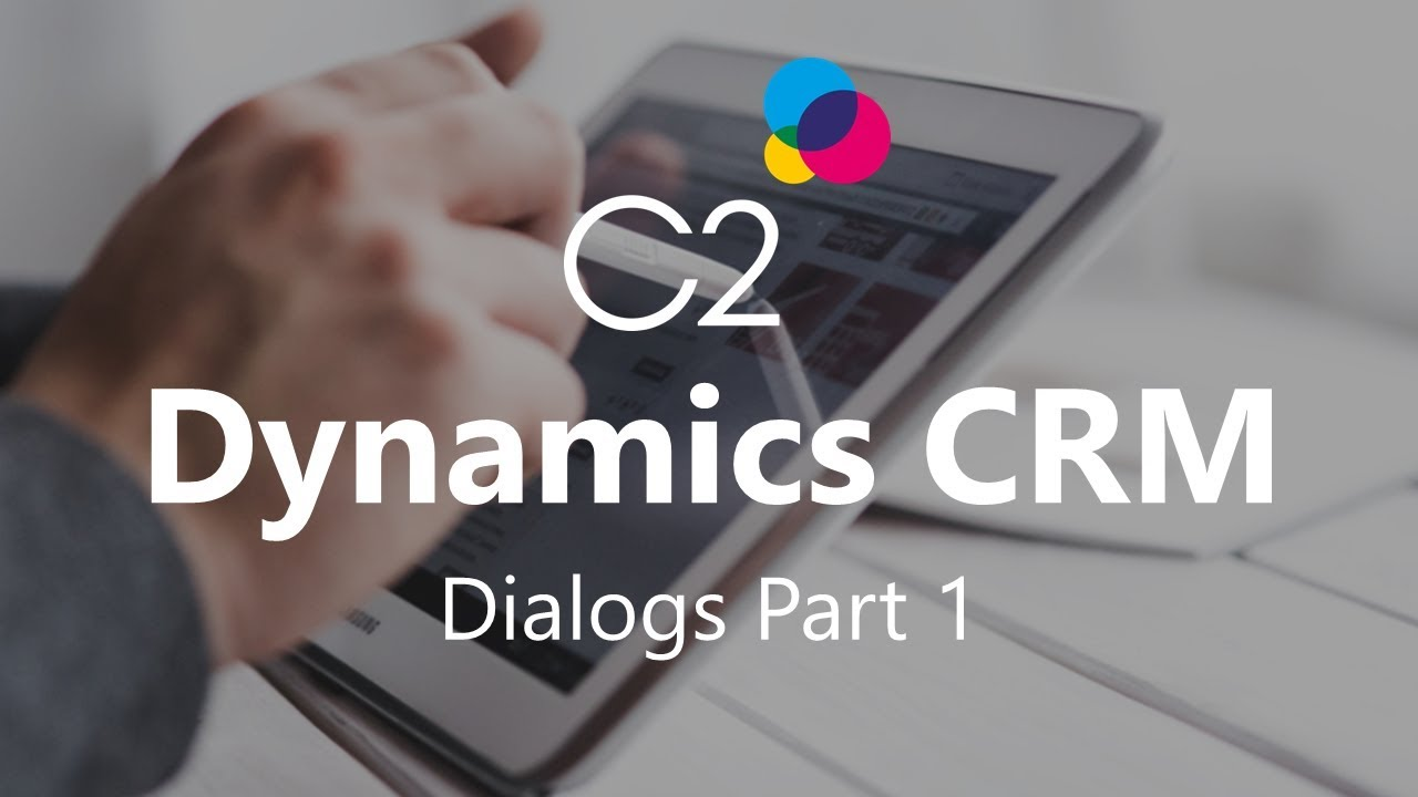 Understand dialogs (developer guide for dynamics 365 for customer.