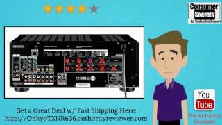 review sale full onkyo tx nr636 7 2 ch dolby atmos ready network a v receiver