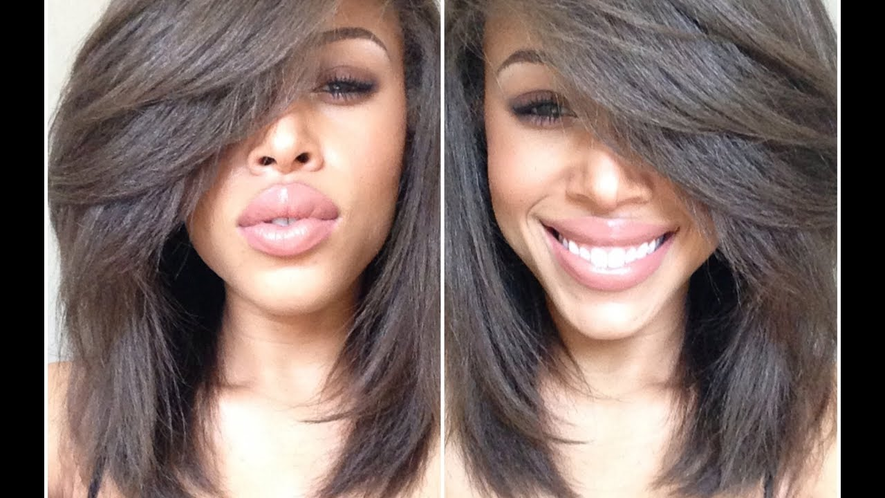 Straighten Natural, Curly Hair: In Depth 3C, 4A, 4B  YouTube