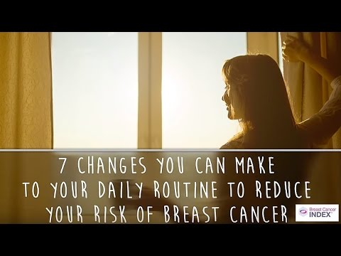 Reduce Cancer Risk: 7 Changes to Make to Your Routine
