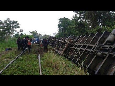 Mexico Train Derailment: Train Overturns, Kills At Least 5