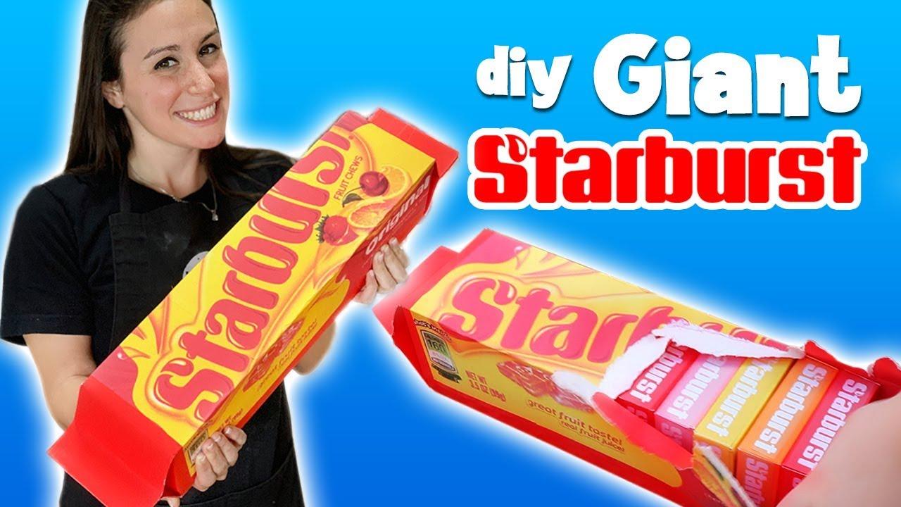 DIY GIANT STARBURST
