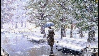Жду тебя, белый снег - песня под гитару