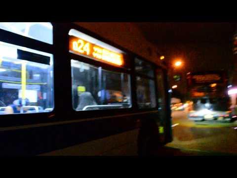 "MTA New York City Bus 2011 New Flyer XD40 ""Xcelsior"" 4818 On The Q24 @ Atlantic Ave & Van Wyck Expwy"