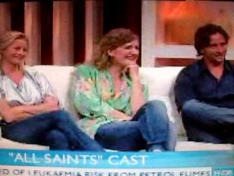 All Saints Cast on Sunrise 31 3 09 Virginia Gay Tammy McIntosh Kip Gamblin