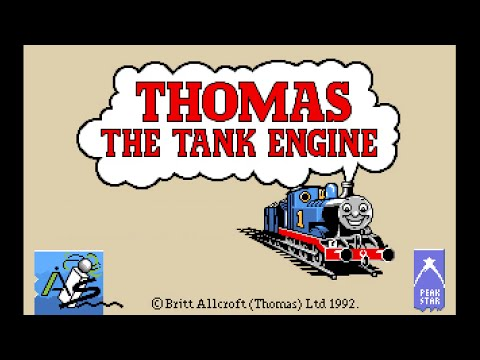 Amiga 500 Longplay [035] Thomas the Tank Engine