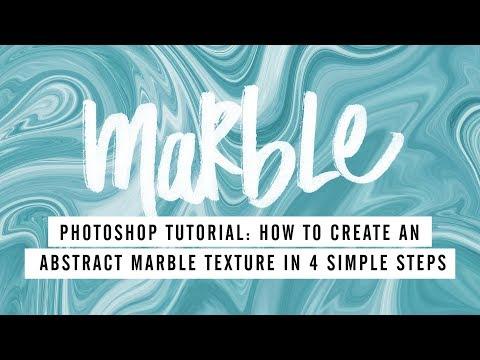 Photoshop Tutorial: Create a Liquid Marble Swirl Texture