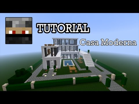 Minecraft 1 2 super hotel para la 1 5 2 funnycat tv for Tutorial casa moderna grande minecraft