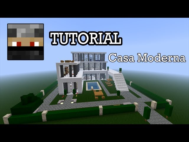 Minecraft Tutorial - Casa Moderna + Download Videos De Viajes