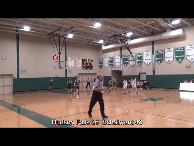 Game Highlights Girls' Varsity: Hudson Falls 33 vs Schalmont 49 (F)
