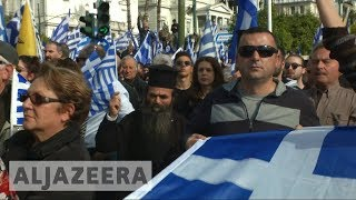 🇬🇷 Tens of thousands of Greeks protest Macedonia's name