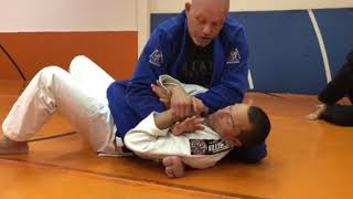 Armbar from Arm-Trap in Technical Mount