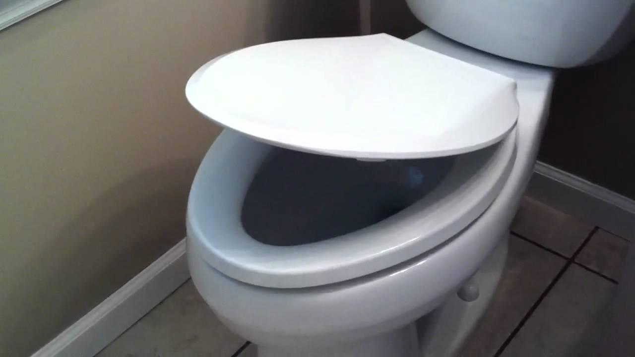 Non Slam Toilet Seat YouTube