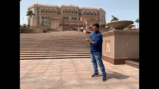 WORLDS MOST EXPENSIVE HOTEL - EMIRATES PALACE in ABU DHABI