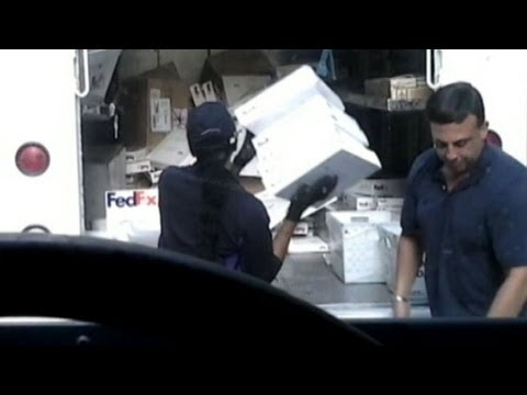 FedEx Responds to Caught on Tape Viral Video of Employee's Mishandling Packages