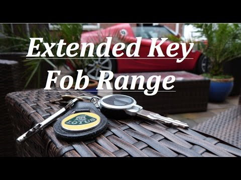 Lotus Elise/Exige key fob range fix