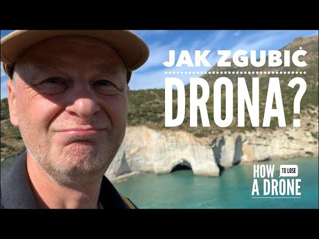 Jak zgubić drona przy skałach Kleftiko na Milos? // Odc. 30