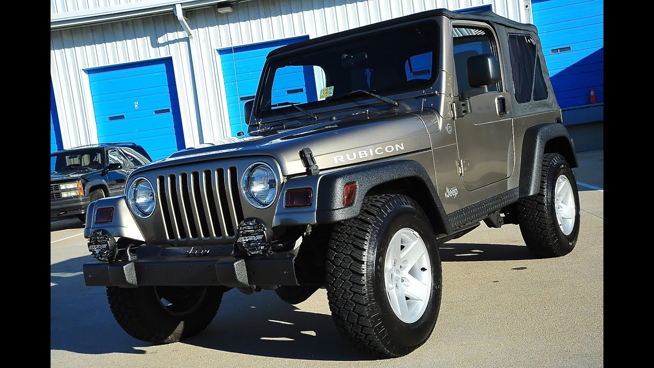 davis autosports 2005 jeep wrangler rubicon tj 61k for sale youtube. Black Bedroom Furniture Sets. Home Design Ideas