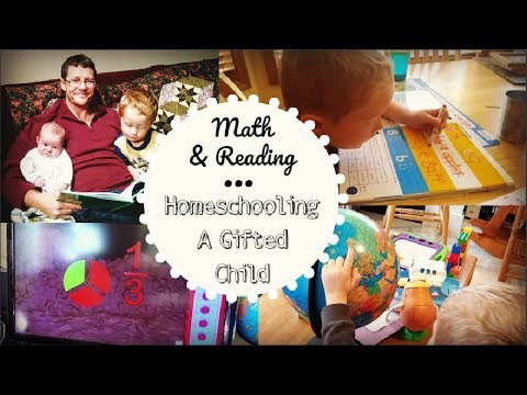 How We Homeschool Our Gifted/Twice Exceptional 4-Year-Old | Reading & Math