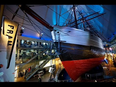 "Norwegian Polar Exploration at the ""Fram"" Museum, Oslo, Norway"