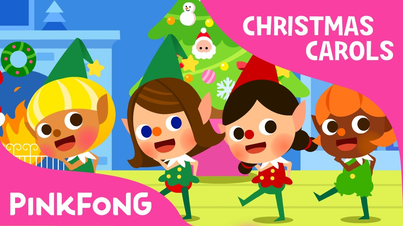 santa 39 s elves christmas carols pinkfong songs for children youtube. Black Bedroom Furniture Sets. Home Design Ideas