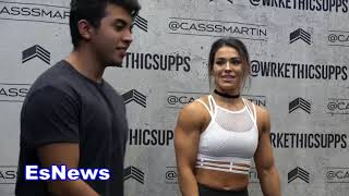 would you date a girl who has more muscles then you?  EsNews Boxing