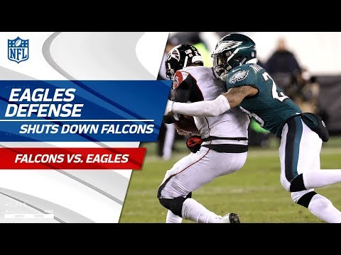 Philadelphia Defense Holds Atlanta to 10 Points! | Falcons vs. Eagles | Divisional Round  Player HLs