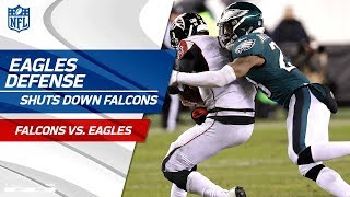 Video Philadelphia Defense Holds Atlanta to 10 Points! | Falcons vs. Eagles | Divisional Round  Player HLs download MP3, 3GP, MP4, WEBM, AVI, FLV Januari 2018