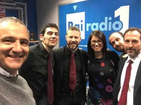 Radio Rai 1, Brasil - 3 aprile 2017