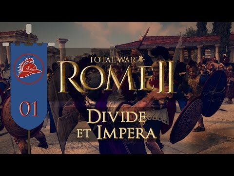 Total War: Rome II (Divide et Impera) - Baktria - Ep.01 - Elephant Power!