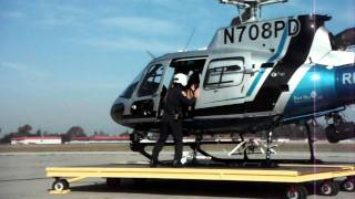 """Search And Rescue Helicopter """"hot Load"""" Practice."""