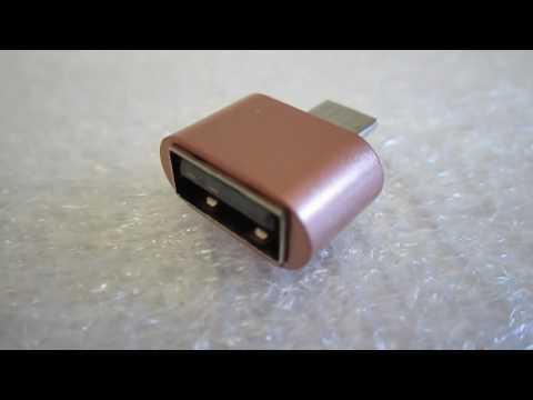 Micro USB 2.0 OTG Hug Converter . unboxing