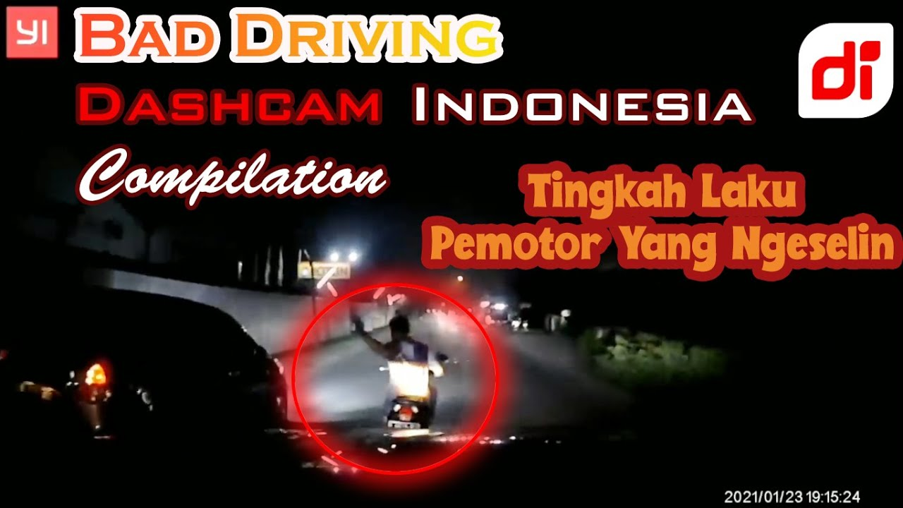 BAD DRIVING DASHCAM INDONESIA COMPILATION #MARET(1) 2021