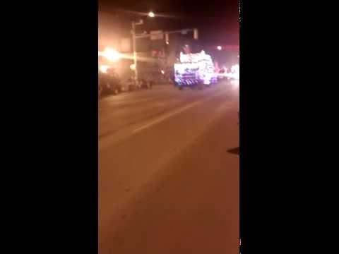 Presque isle Maine Christmas light parade
