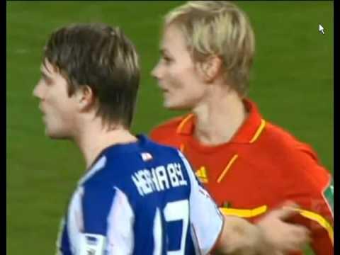 Referee Get Bosom Wiped