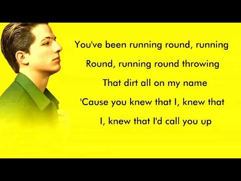 Charlie puth ATTENTION song lyrics