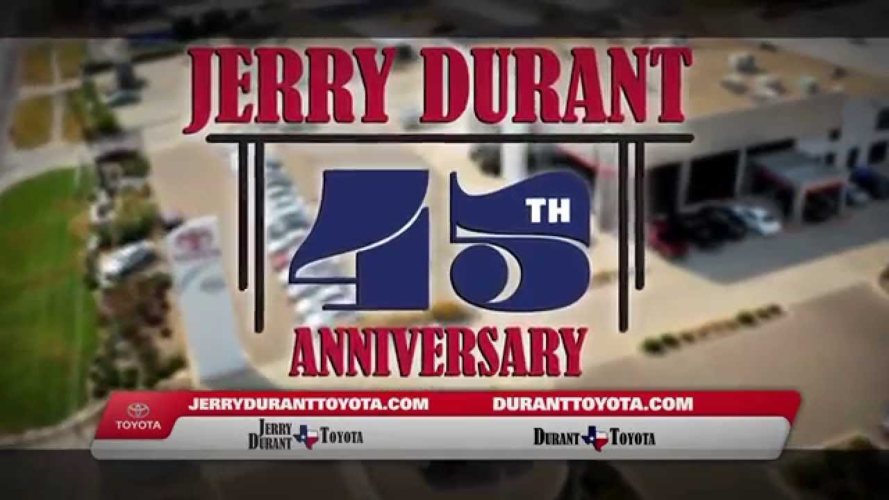 jerry durant toyota 45th anniversary camry youtube. Black Bedroom Furniture Sets. Home Design Ideas