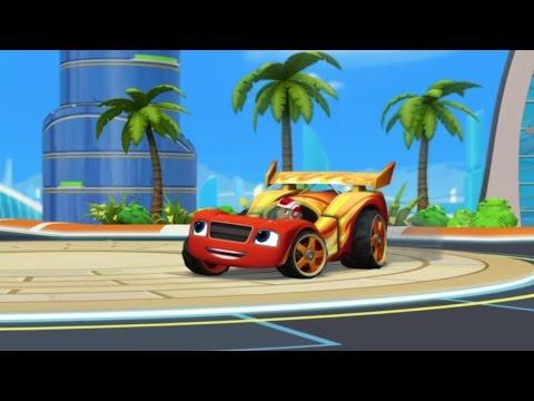 Blaze et les Monster Machines | Blaze, la voiture de course | NICKELODEON JUNIOR