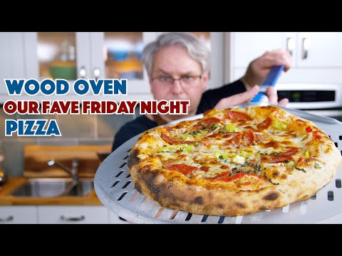 Our Favourite Friday Night Wood Fired Pizza Recipe